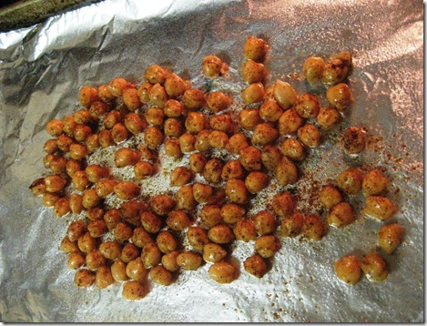 Chickpeas Ready for Oven