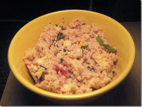 leftover couscous