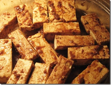 MarinatingTofu
