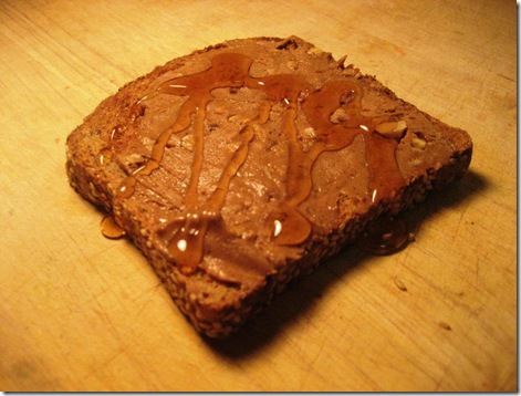 Almond Butter and Honey Toast