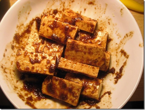 Tofu Marinating